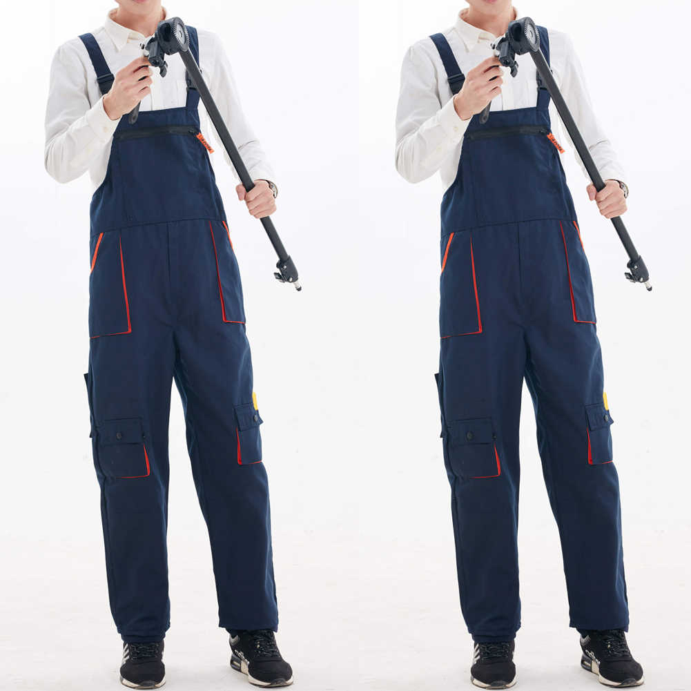 Meihuida Mono De Trabajo Para Hombre Moda Informal Nailon Holgado Trabajo Pesado Mono Prendas De Trabajo Mecanico Pantalones Con Cinturon Pantalones Informales Aliexpress