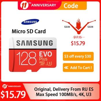 SAMSUNG Memory Card Micro SD Card 256GB 32G 64GB Microsd Micro SD 128GB 512G SDHC SDXC Grade EVO+ C10 UHS TF Flash SD Cards 1