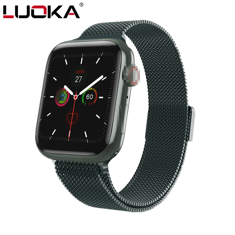LUOKA Iwo 9/ecg Ppg Smart Watch Men Heart Rate Iwo 9 Smartwatch Iwo 8 Lite/iwo 10 Smart Watch For Women/men 2020 For Apple IOS
