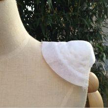 1 пара 2 шт. толстые 25 мм белые/черные мягкие плечевые подкладки для Блейзера