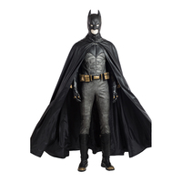 Movie Batman Cosplay Costume Full Sets Uniform Cosplay Costume Hallowen Carnival Party Batman Custom Made Costumes