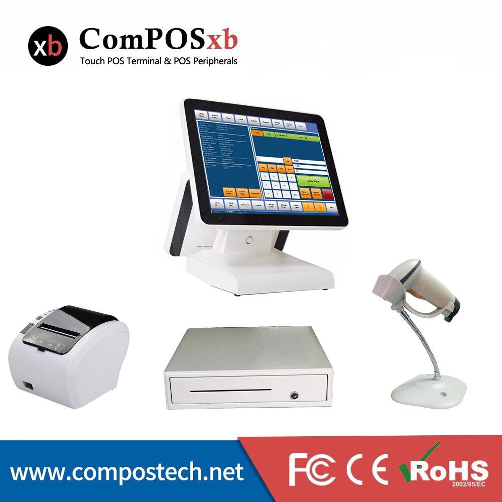 ComPOSxb prix usine pos machine caisses enregistreuses imprimante scanner point de vente pos tout en un