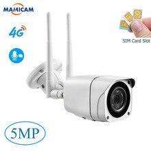 Cámara de tarjeta SIM 3G 4G al aire libre Full HD 1080P inalámbrica Wifi IP Cámara bala impermeable CCTV IR visión nocturna P2P SD tarjeta de seguridad