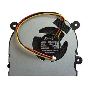 Laptop CPU Cooler Fan For MSI S6000 X600 CLEVO 7872 C4500 By ADDA AB6505HX-J03 AB6605HX-J03 6-31-W25HS-100 BS5005HS-U89