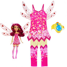 Halloween Costumes for Kids 2020 Girls Mia Clothes Sets MIA and ME Cosplay Birthday Party Carnival Clothing with Mia Hand Ring