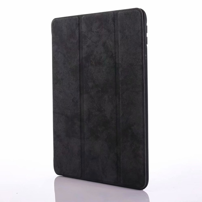 black White Smart PU Leather Case For iPad 10 2 2019 with Pencil Holder Cover for Apple iPad