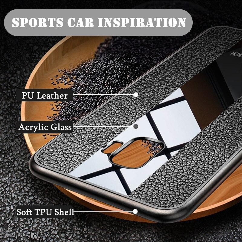 Luxury leather case for Meizu M6 M6note M6S M5 Meizu note8 9 Porsche TPU mobile phone back cover for Meizu M6s M6t
