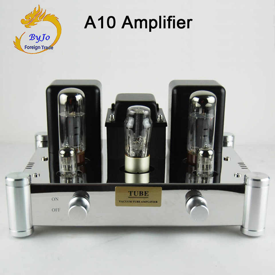 Byjotech A10 EL34B Tunggal Berakhir 5Z4PJ Vakum Amplifier Tabung Rectifier Hi Fi Stereo Audio Power Amplifier