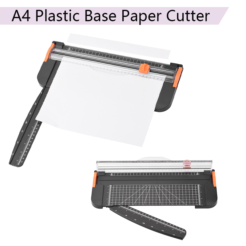 Portable A4 Plastic Base Ruler Paper Cutter Cutting Mats Office School Supplies Trimmer Scrapbooking Tools Cutting Machine