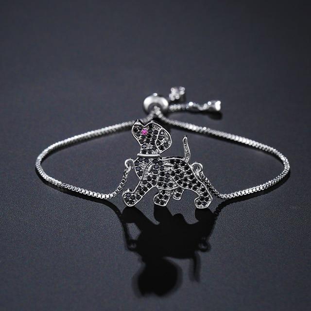 Dog Lovel Charm Bracelets   2