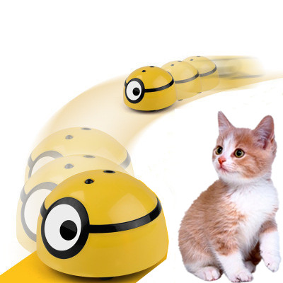2020 Pet Cat Dog Interactive Smart Toys Automatic Walking Escape Toy Infrared Sensor Cat Scratch Device Dropshipping KidsToy