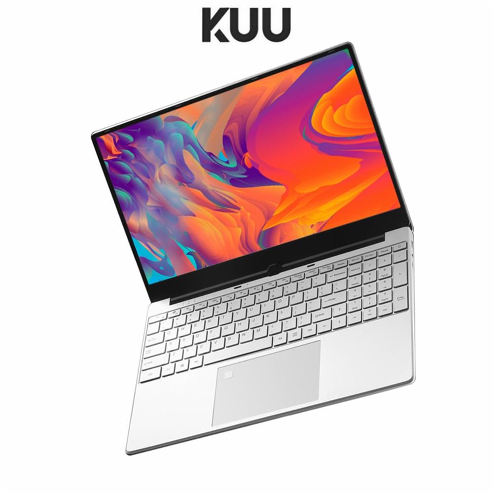 KUU 15 6Inch For Intel i5-5257U 3 10GHz Gaming laptop 256GB SSD IPS Screen Keyboard Backlight Fingerprint Unlock game Notebook
