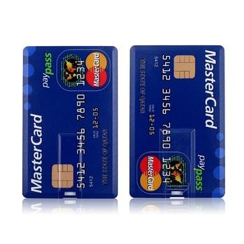 USB Flash Drive High Speed Bank Credit Card Pen Drive 4GB 8GB 16GB Pendrive 32GB 64GB Memory Usb Stick Flash Drive 128GB usb flash drive 2 0 pen drive 16gb 32gb 64gb 8gb 128gb pendrive usb stick metal flash memory stick high speed 32 16 64 128 gb