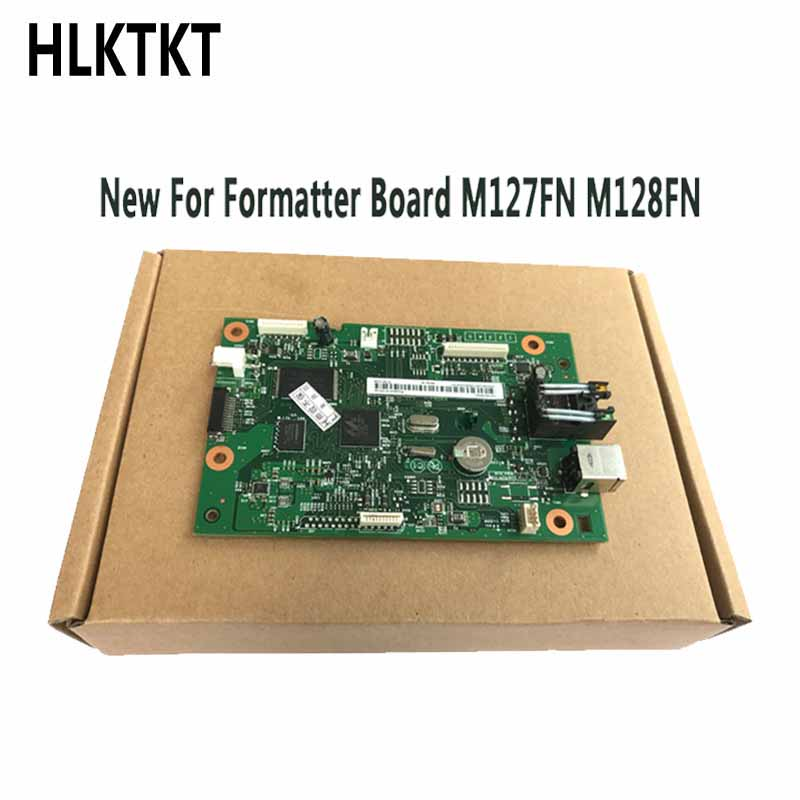 Original new CZ181-60001 CZ183-60001 Formatter Board for <font><b>HP</b></font> M127FN M128FN M127 M128 <font><b>M127FW</b></font> 127FW M128FW 127 128FW mother board image