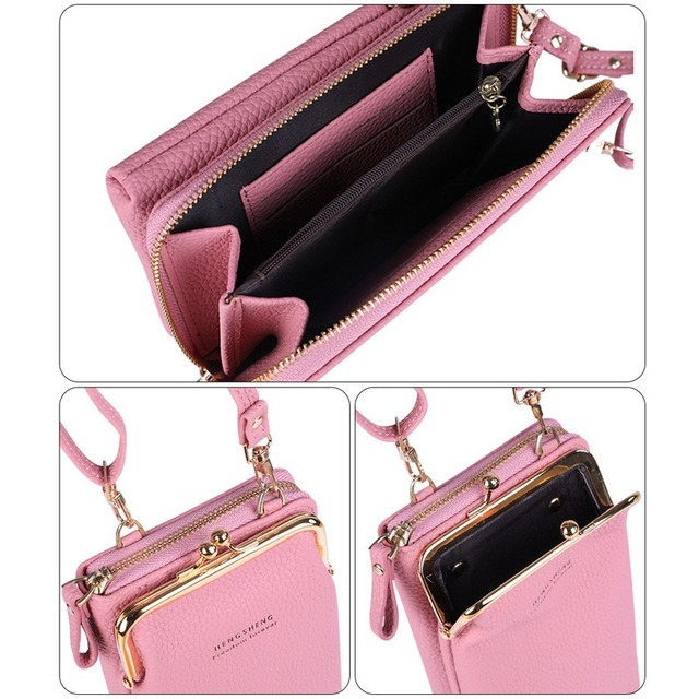 HOT Fashion Small Crossbody Bags Women Mini Matte Leather Shoulder Messenger Bag Clutch Bolsas Ladies Phone bag Purse Handbag 6