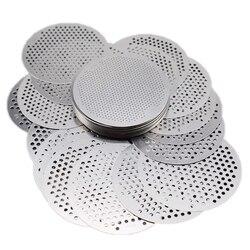 Tamiz de piedra preciosa de acero inoxidable tamiz de diamante Medición de detección Chip tamiz de piedra-48mm