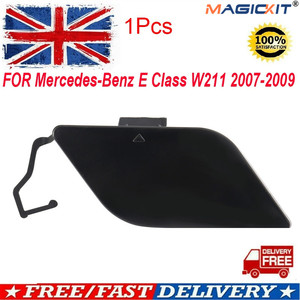 MagicKit FOR MERCEDES BENZ MB E W211 07-09 SALOON FRONT BUMPER TOW HOOK EYE COVER PRIMED