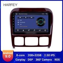 Harfey 9 Android 9.0 Radio samochodowe nawigacja GPS dla Mercedes Benz S klasa W220 S280 S320 S350 S400 S430 S500 1998 2005 Audio z AUX