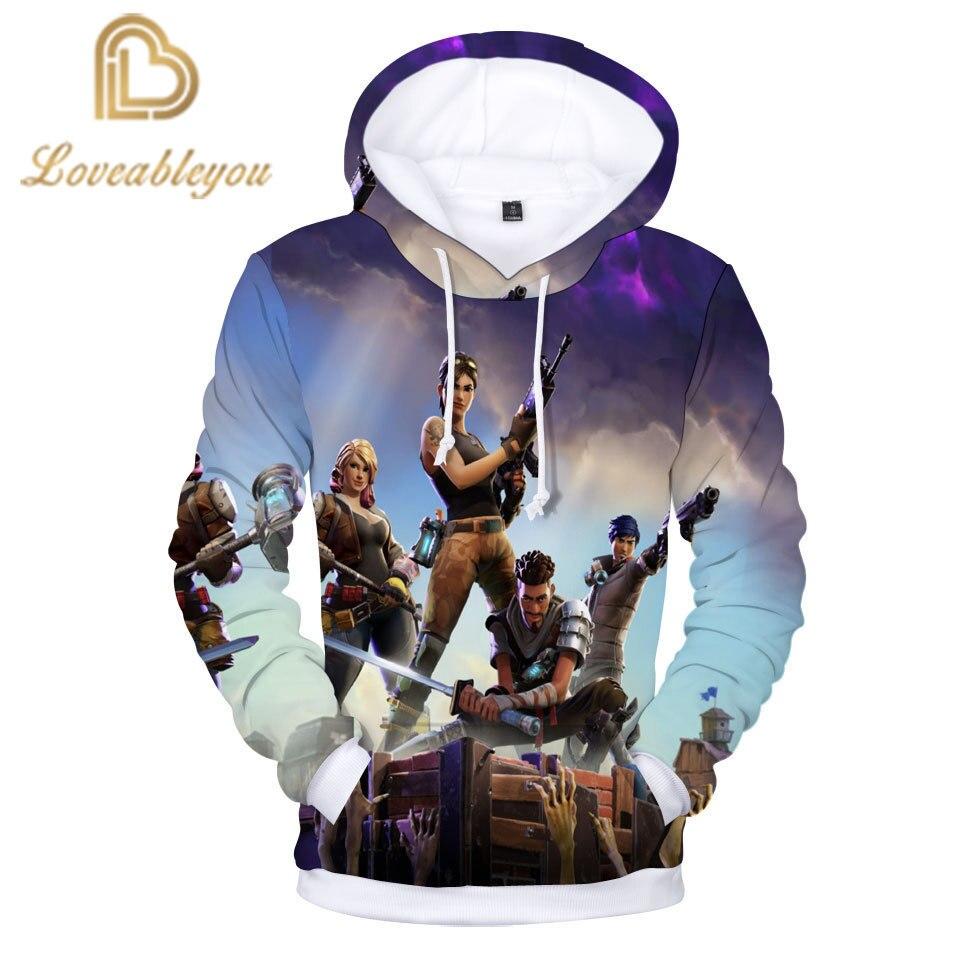 New Battle Game 3D Hoodie Children Hoodies Streetwear Hip Hop Warm Hoody Sweatshirts Hoodie Harajuku Victory Royal