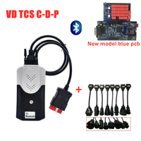 New design! v8.0 pcb keygen 2016R0 with bluetooth scan for delphis obd obd2 cars diagnostic scan tool +8pc truck cables|Car Diagnostic Cables & Connectors| |  -