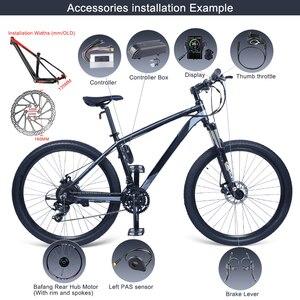 Image 5 - Bafang 48v 500ワットブラシレスギアハブモーターe バイクモータG020.500後輪駆動電動自転車変換キット自転車大人