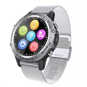 Image 1 - P8 ساعة ذكية PPG ECG كامل اللمس HD شاشة Smartwatch مع كاميرا جهاز تعقب للياقة البدنية متعددة الرياضة سوار ذكي IP68 مقاوم للماء