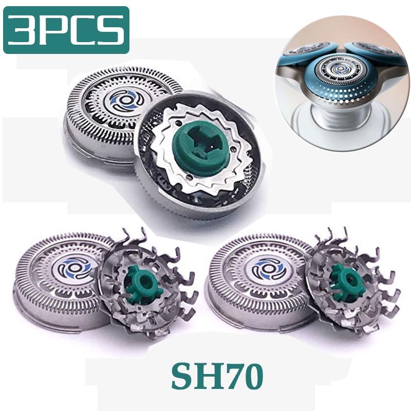 Сменная головка SH70 для бритвы philips S7000 Series S9031 S7010 S7310 SH90 S9000 Series S7980 S7311, 3 шт.