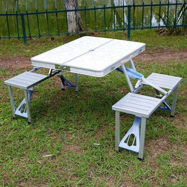 Aluminum Camping Table Set 2