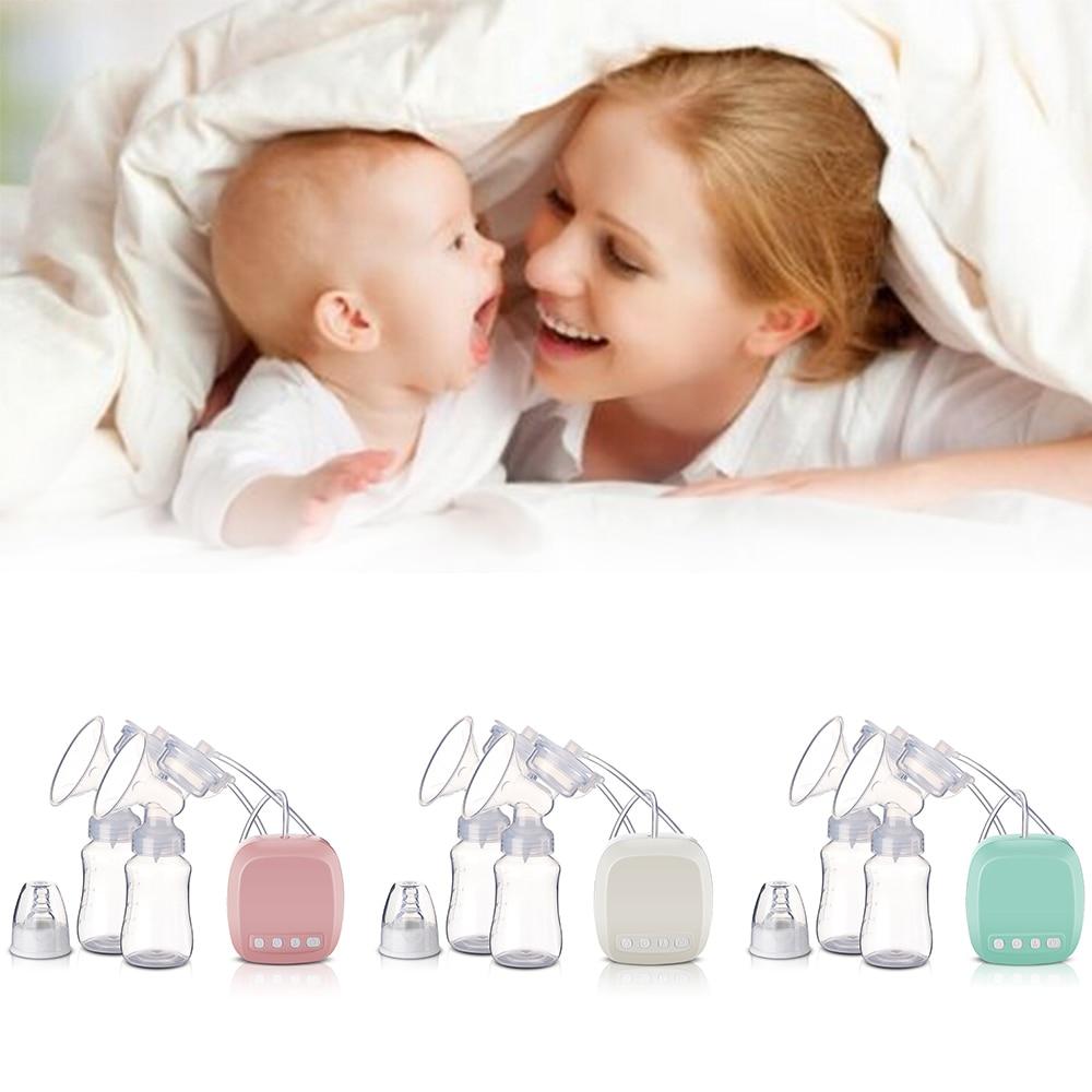 CYSINCOS Intelligent Automatic Electric Breast Pumps Nipple Suction Milk Pump Breast Feeding USB Electric Breast Pump