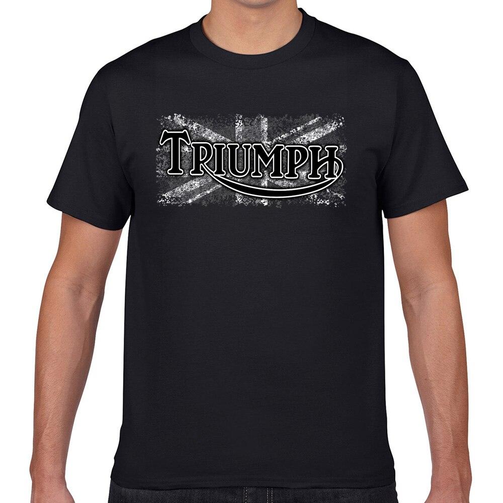 Tops T-shirt Mannen Triumph Autonautcom Toevallige Zwarte Geek Print Mannelijke T-shirt Xxxl