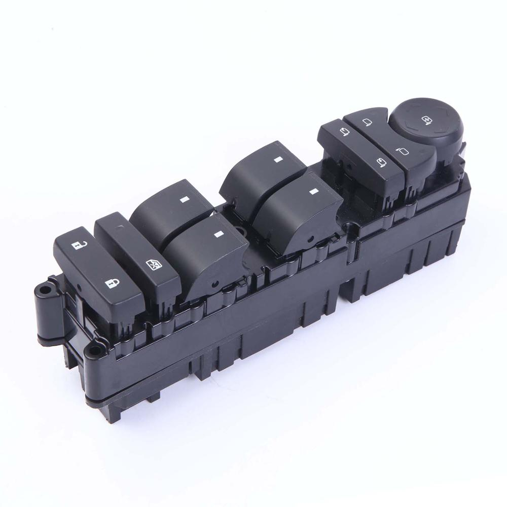 Wotefusi Master Power Window Switch Front Left Driver Side For Hummer 2008 2009 [QPA645]