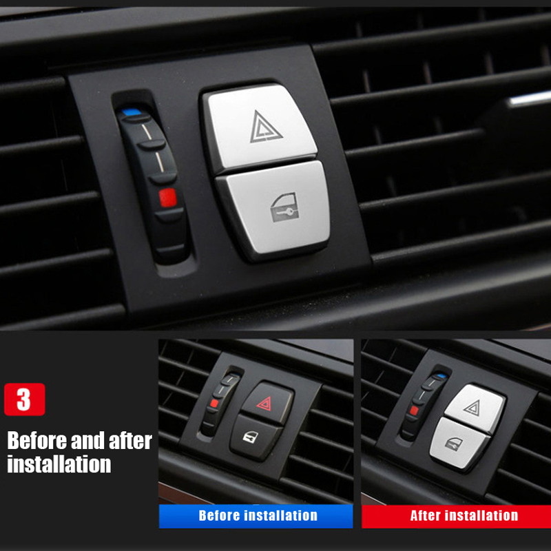 ABS after trunk switch Button Cover Trim For Land Rover Discovery Sport 2016-17