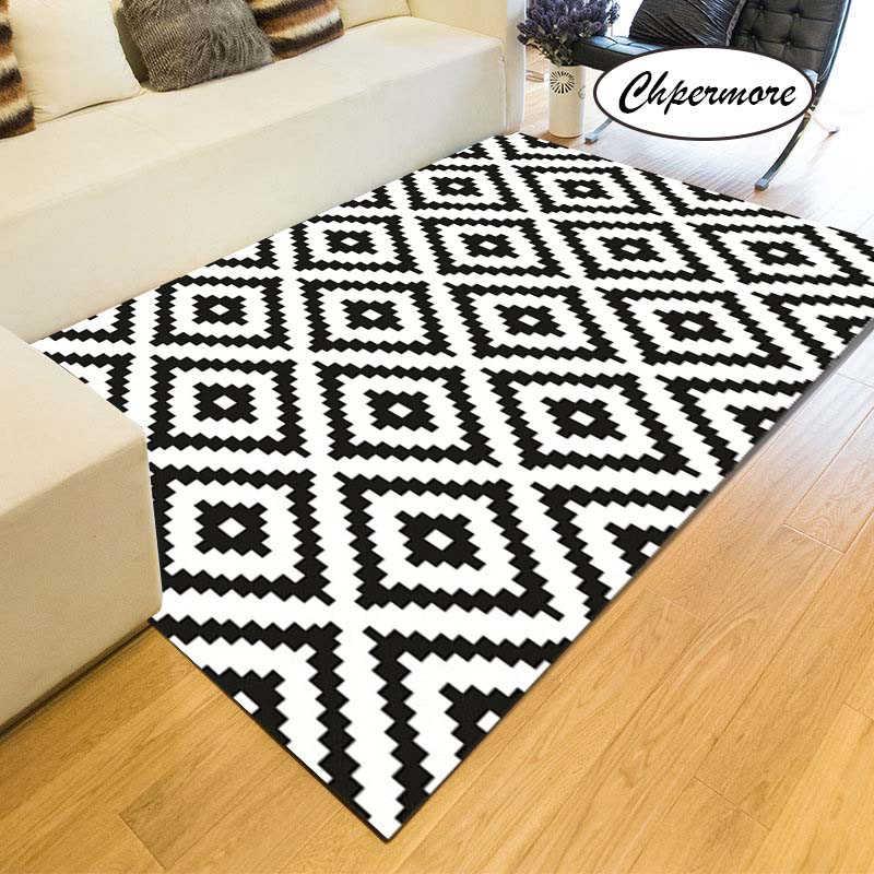 chpermore noir et blanc simple grand tapis plume decoration tatami tapis chambre maison lving chambre tapis tapis de sol