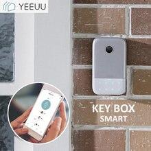 Умный Футляр для ключей с bluetooth приложением телефона отпечатком