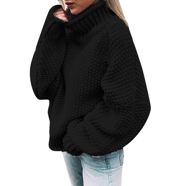 Women's Knitted Sweaters Winter Warm Casual Sweaters 2020 Ladies