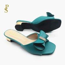 Pantofole con gli archi per le Signore pistoni di estate di buona qualità pantofole per le donne