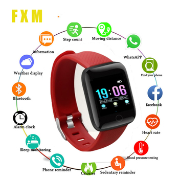 Sports clock Bluetooth Smart Bracelet Fitness Tracker Blood Pressure Fitness Band Sports Smart Wristband Heart Rate montre homme