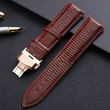 Ремешок Универсальный кожаный для наручных часов браслет с узором