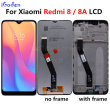 Original For Xiaomi Redmi 8A LCD Display With Frame Touch Screen Panel Digitizer Assembly For Xiaomi Redmi 8A 8 LCD