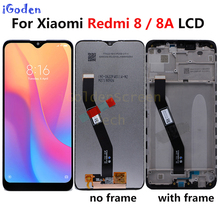 Originele Voor Xiaomi Redmi 8A Lcd Display Met Frame Touch Screen Panel Digitizer Vergadering Voor Xiaomi Redmi 8A 8 Lcd