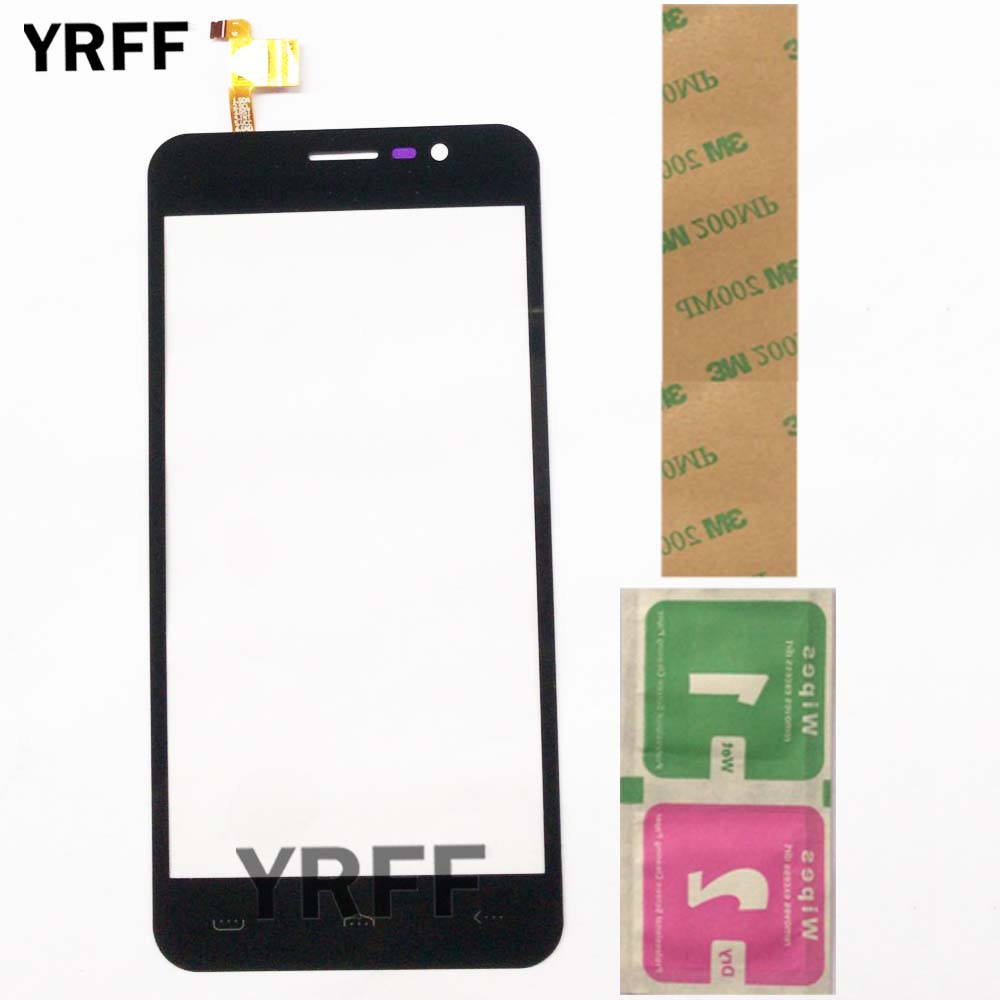 Touch <font><b>Screen</b></font> Glass For <font><b>Homtom</b></font> <font><b>ht16</b></font> Touch <font><b>Screen</b></font> Digitizer Panel Mobile Phone Lens Sensor Replacement Wipes 3M Glue image