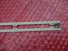 Novo 2 pces (1 esquerda + 1 direita) ua46d5000pr led backlight barra BN64-01644A 2011svs46-5k6k-esquerda direita h1b 1ch 72leds 51cm