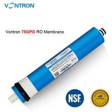 Vontron ULP1812 75 osmosis reverso 75gpd, ro de membrana universal compatível com ro, substituição, adequado para purificador de filtro de água residencial
