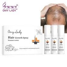 Produits Anti-perte de cheveux de croissance de cheveux de dame d'omie naturels sans effets secondaires liquide 180ml d'huile essentielle de jet de croissance de cheveux