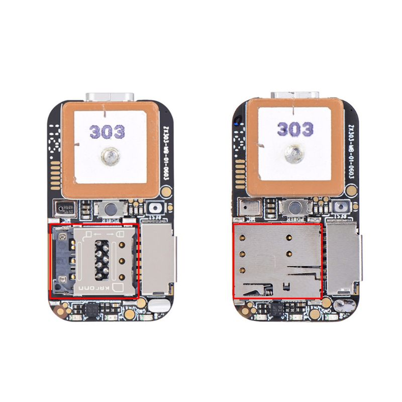Super Mini Size GPS Tracker GSM AGPS Wifi LBS Locator Free Web APP Tracking Voice Recorder ZX303 PCBA Inside U1JF GPS Trackers     - title=