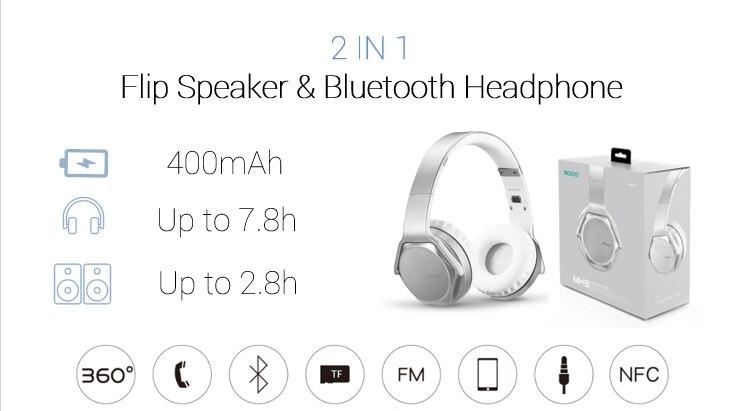 Hotest sodo mh3 fones de ouvido estéreo