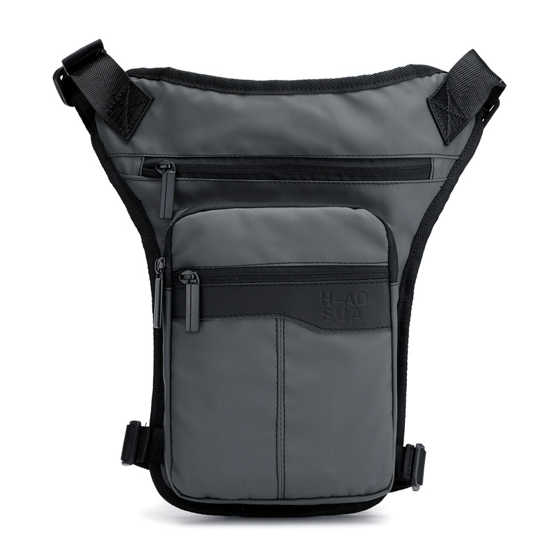 New Style Outdoor Riding Leg Men's And Women's Sports Running Bag Fashion Casual Shoulder Bag Korean-style Stylish Chest Pack
