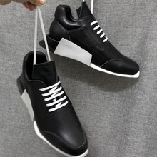 Top Brand Mens Trainers Sneakers Lace Up Light-weight Cow Re