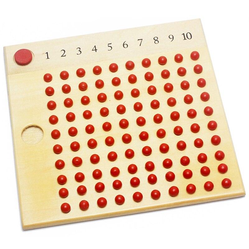 Обучающая игрушка для раннего математики, мультипликатор и деление, математика, игрушечный бисер, обучающая игрушка для раннего образования, набор