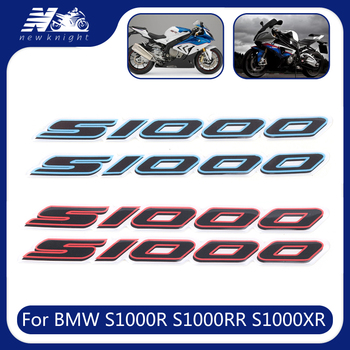 For BMW S1000R S1000RR S1000XR Motorcycle 3D Logo Waterproof Sticker Body Shell Decal Protector Fairing Emblem Badge Accessories image